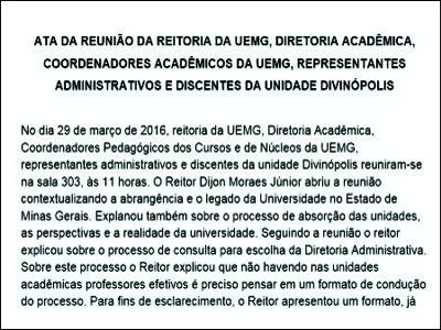 Divinópolis Gilson Soares Deixa Uemg Novas Eleições São