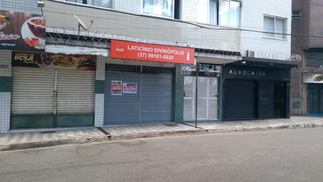 65f52665d DIVINÓPOLIS  Mais de 35 lojas vazias em apenas um trecho das Ruas ...
