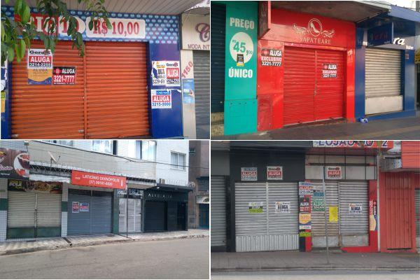 283ae7c3f DIVINÓPOLIS  Mais de 35 lojas vazias em apenas um trecho das Ruas Goiás e  Pernambuco – DiviNews.com