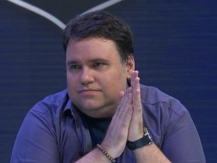 O apresentador do SporTV, Rodrigo Rodrigues - (Foto: Reprodução)