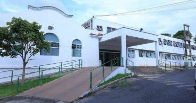 Santa Casa de Formiga — Foto: Anna Lúcia Silva/G1